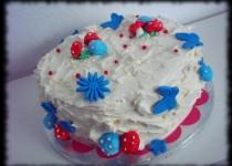 tarta bosque animado