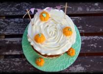 """tarta de calabaza y especias """"halloween"""""""