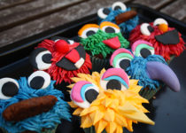 Cupcakes de Barrio Sesamo