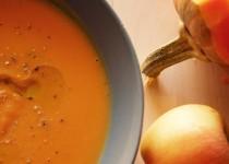 Crema de Calabaza y Manzana
